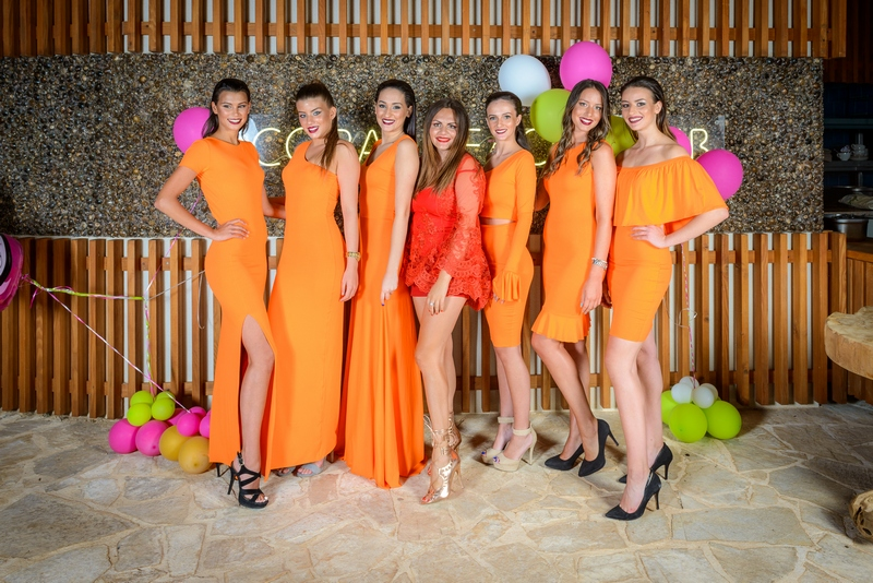 celebrity Andrea Zvono birthday design Dubrovnik cat walk girls