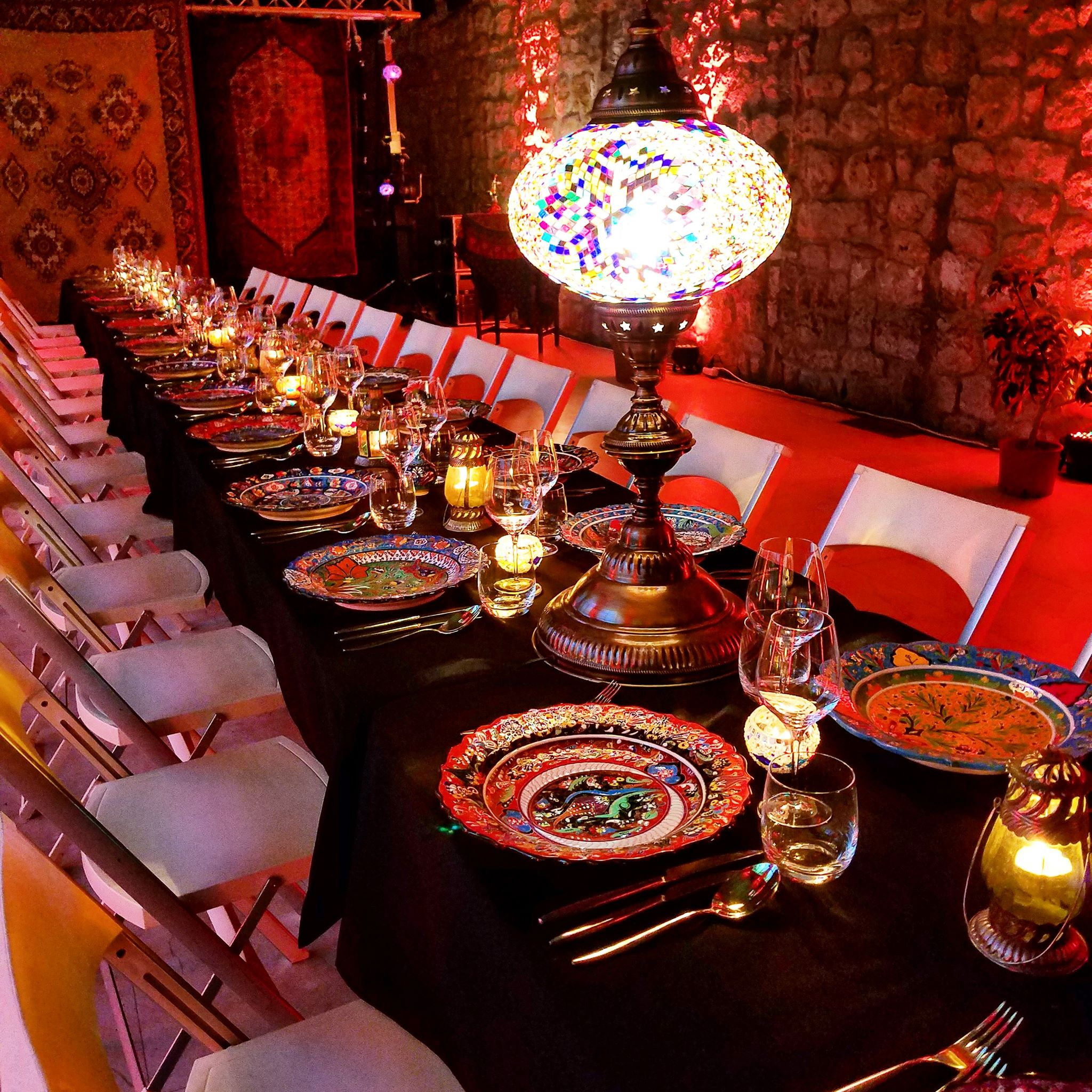 table dinner Godubronvik Richard Gruica