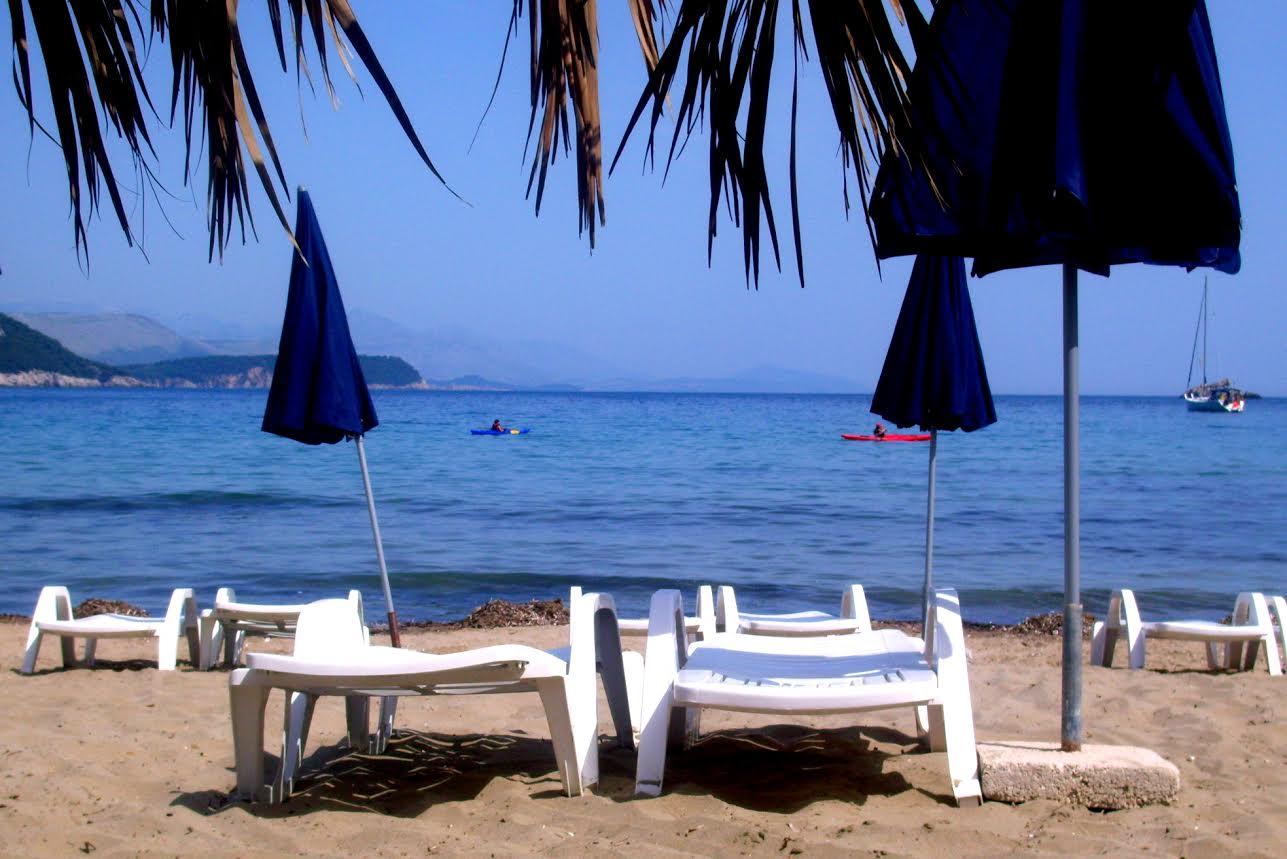 sand beach sunj on lopud island - go dubrovnik