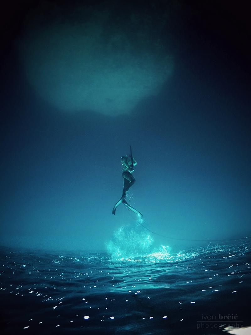 diving underwater photo Ivan Brcic