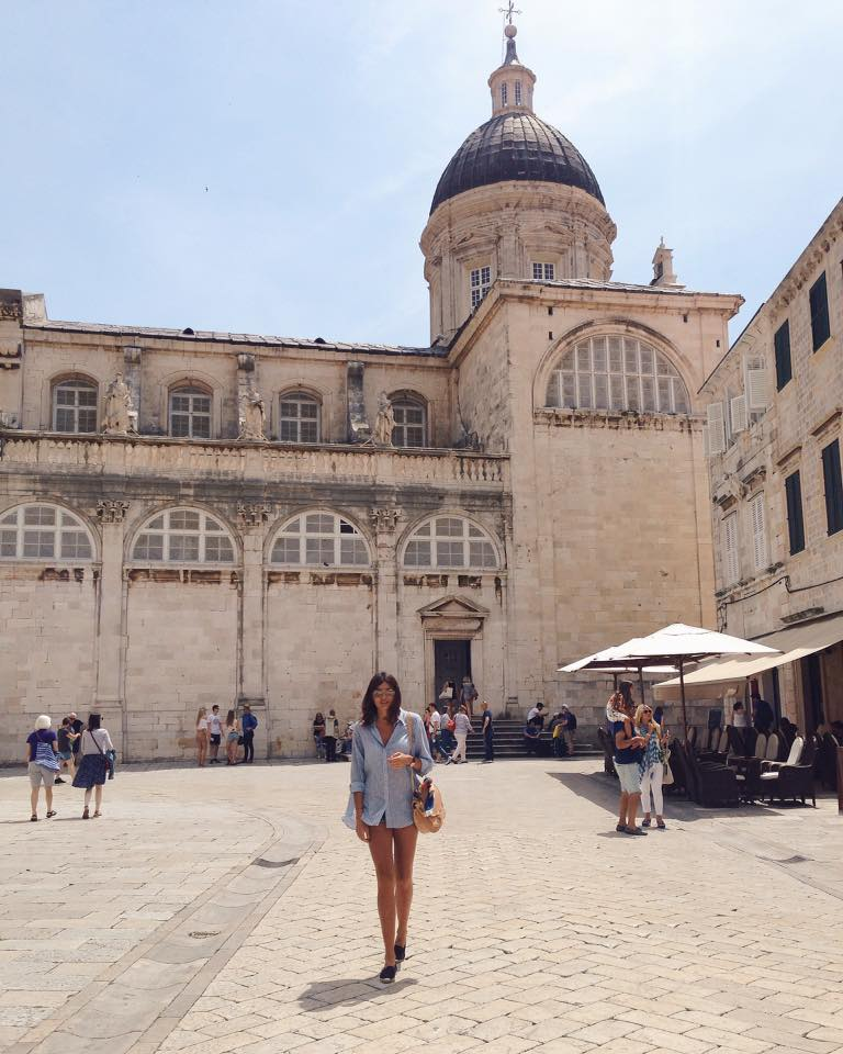 Josipa Dragun coffe blogger Dubrovnik Go Dubrovnik street