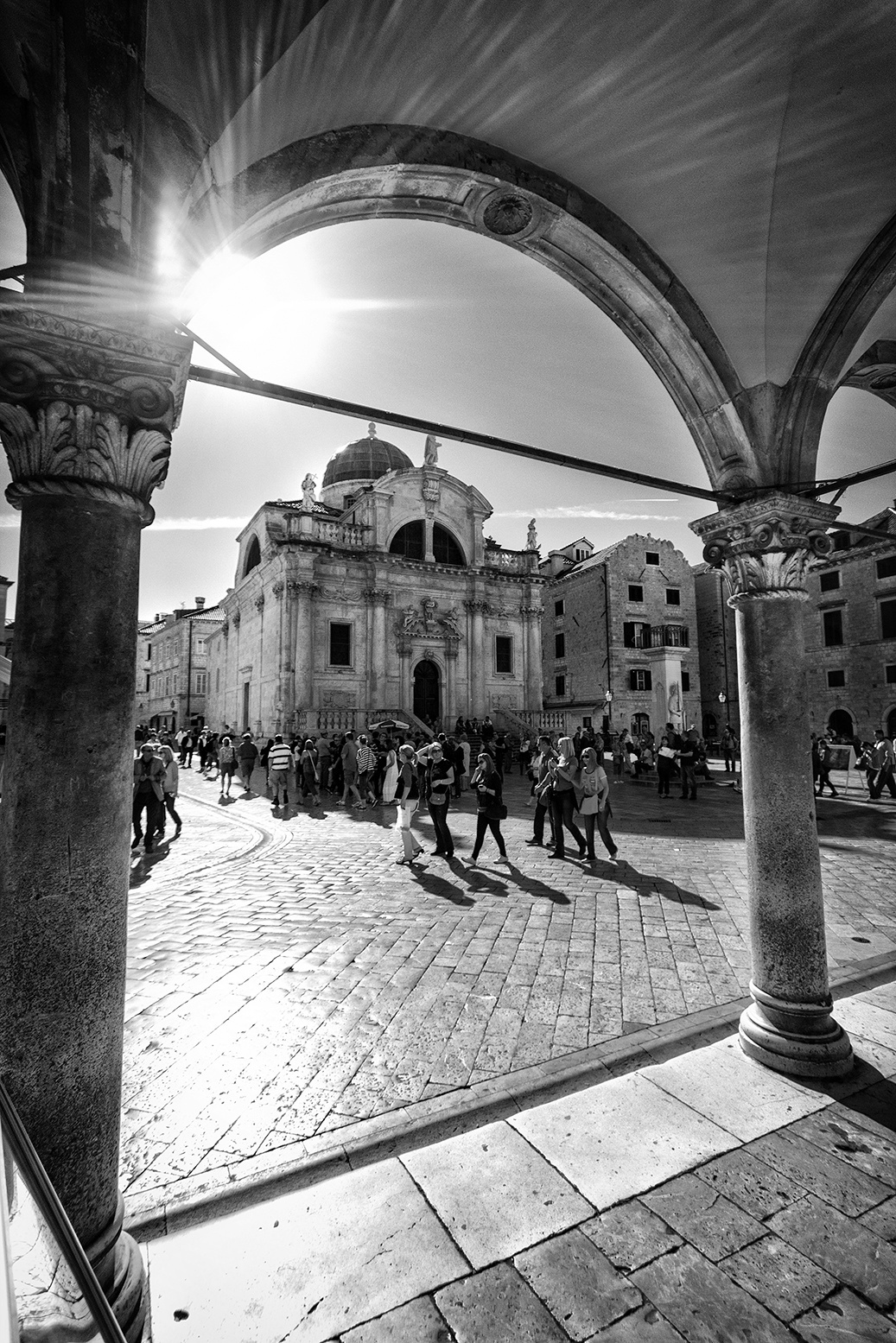 st blaise church in old town - go dubrovnik