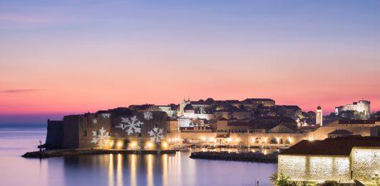 Dubrovnik Old Town Christmas