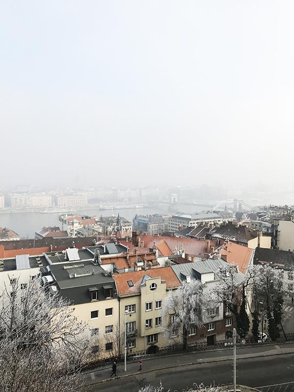 budimpešta pogled