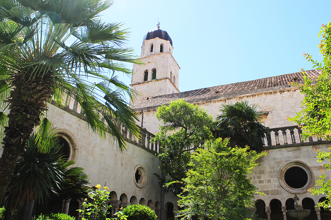 things you don't know about Dubrovnik GoDubrovnik franciscan monistery