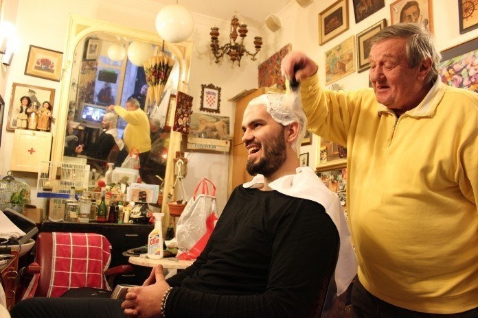 The barber in Dubrovnik - godubrovnik