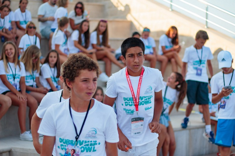 DUD BOWL tennis tournament Dubrovnik center Srđ Cable Car boys