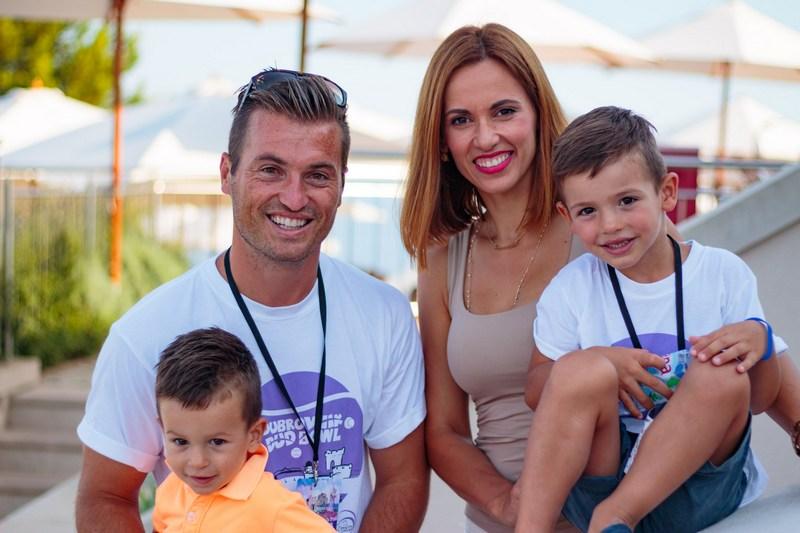 DUD BOWL tennis tournament Dubrovnik center Srđ Cable Car family