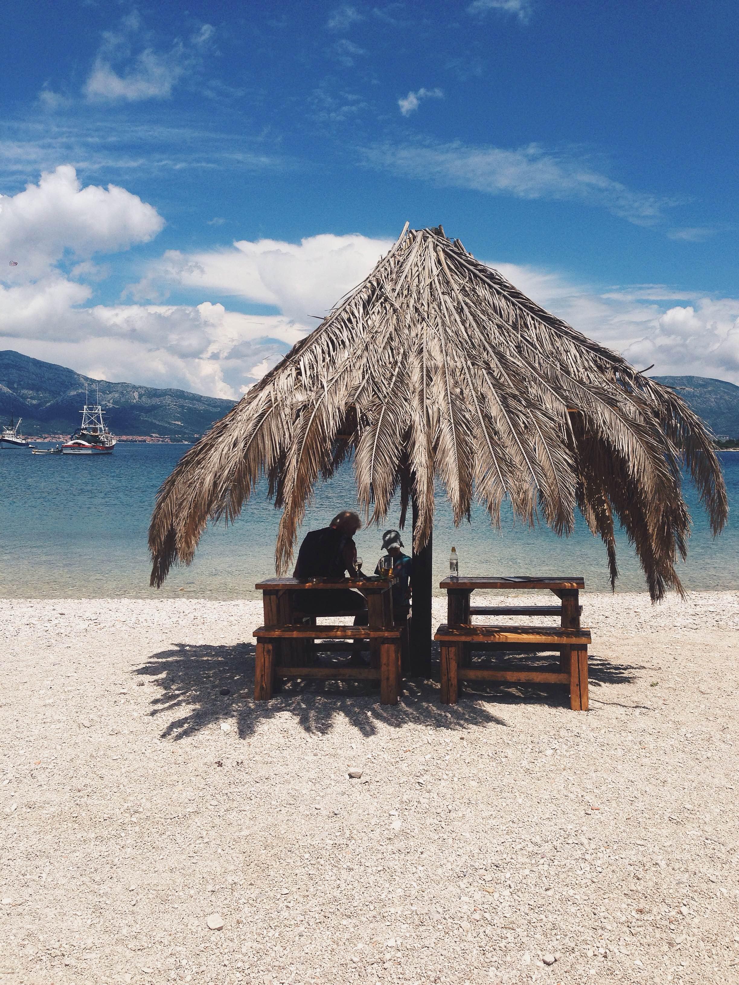 korcula beach