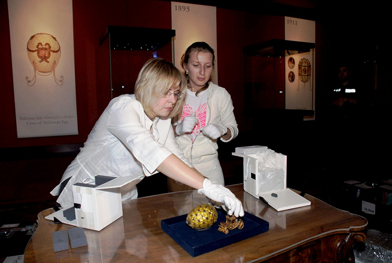 EXHIBITION FABERGE AT DUBROVNIK
