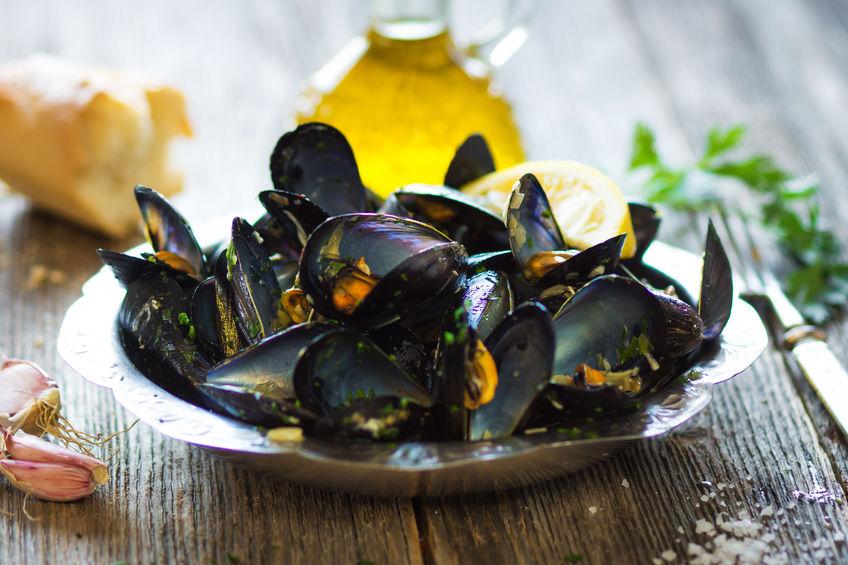 mussels with buzara sauce Dubrovnik