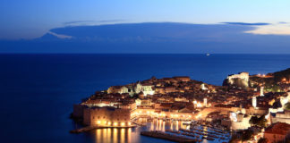 Dubrovnik Old Town Night