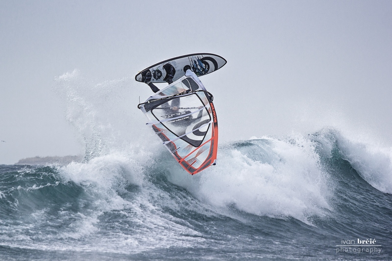 wind surfing Mali Losinj Ivan Brcic underwater photo