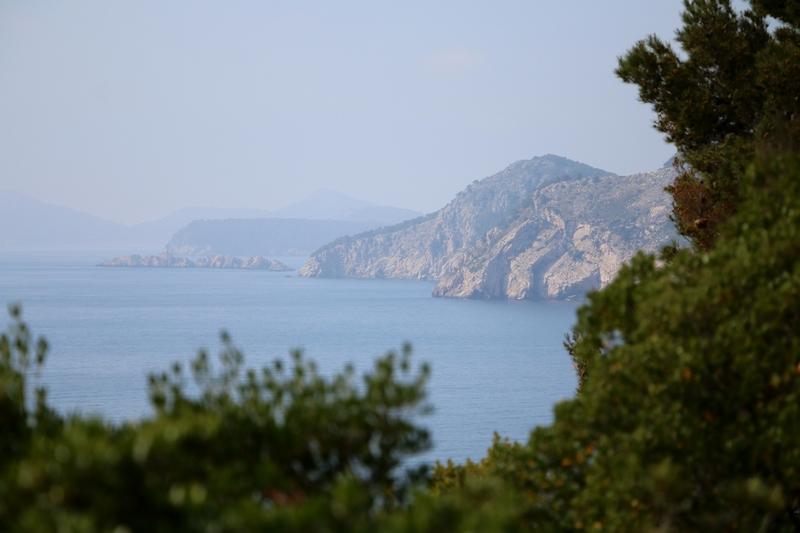 Coast Lokrum Island