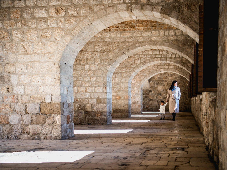 lovrijenac fort walls of Dubrovnik