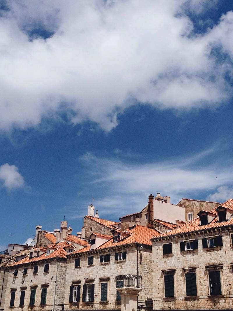 sky Dubrovnik street architecture Krunoslav Ivanišin Old Town Josipa Dragun