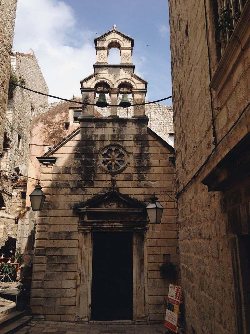 streets Dubrovnik Church Old Town Josipa Dragun Krunoslav Ivanišin