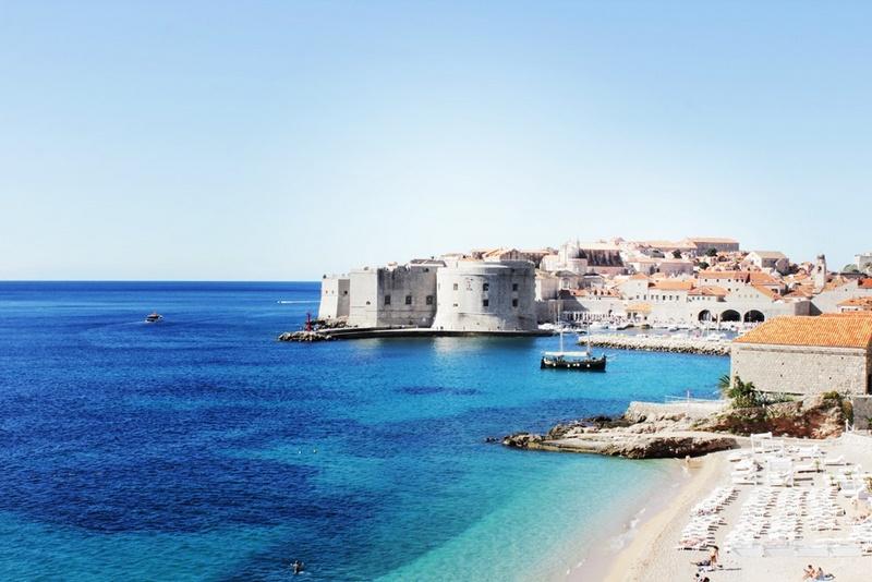 visit Croatia visit Dubrovnik Banje Beach
