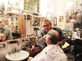 Barber in Dubrovnik Croatia Hrvoje Čikato