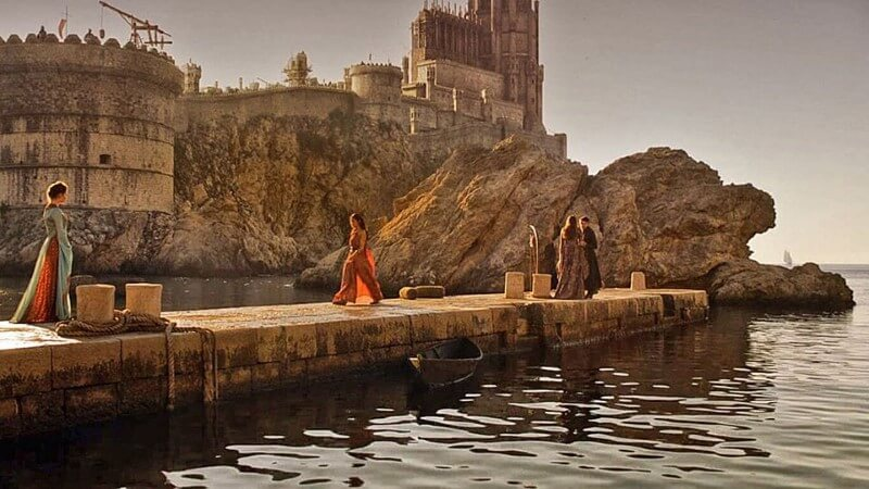 blackwater bay dubrovnik game of thrones filming location dubrovnik