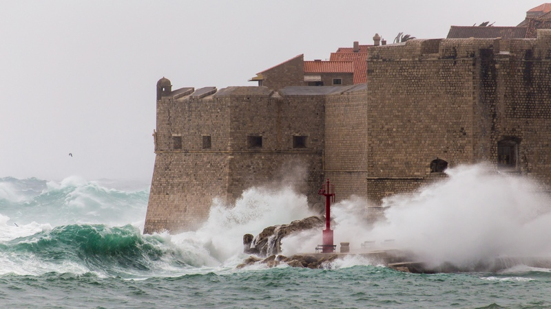 Bura Dubrovnik Weather Forecast December Dubrovnik Weather In Winter