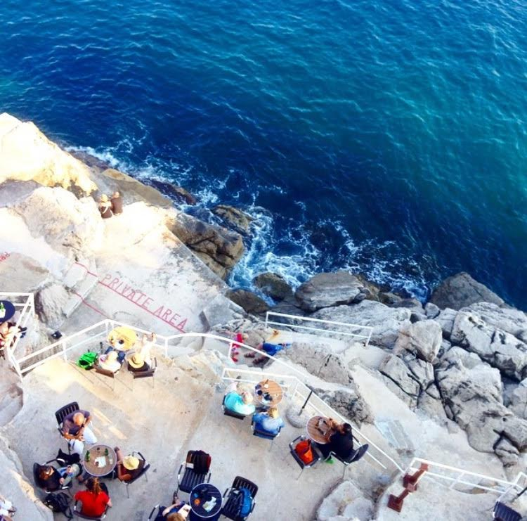 buza the whole in the wall go dubrovnik
