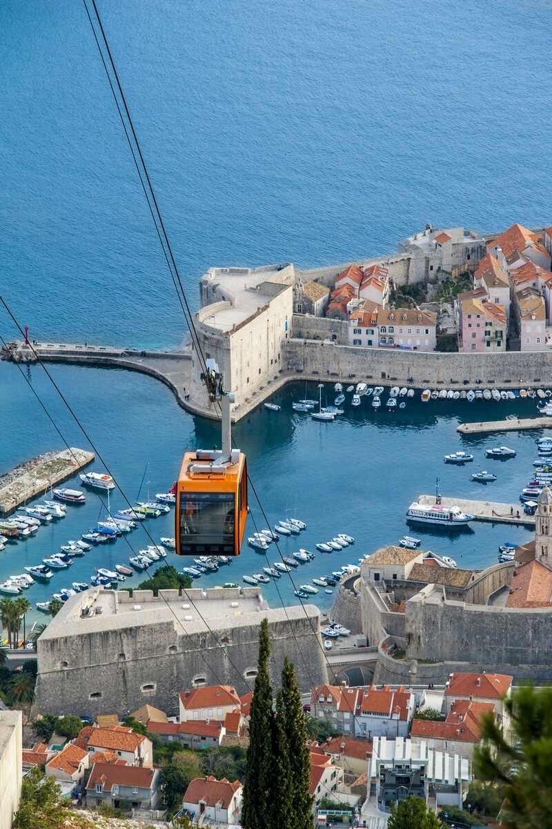 Dubrovnik Cable Car Srđ