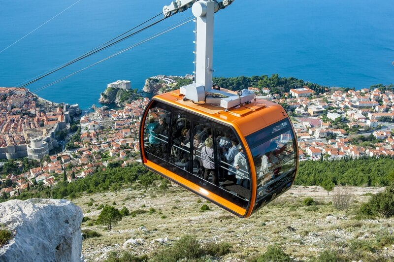 Cable Car Dubrovnik Srđ