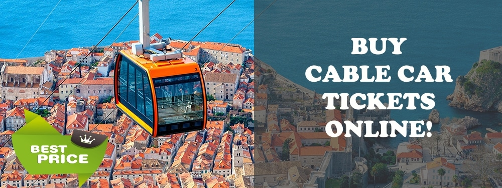 cable car tickets dubrovnik