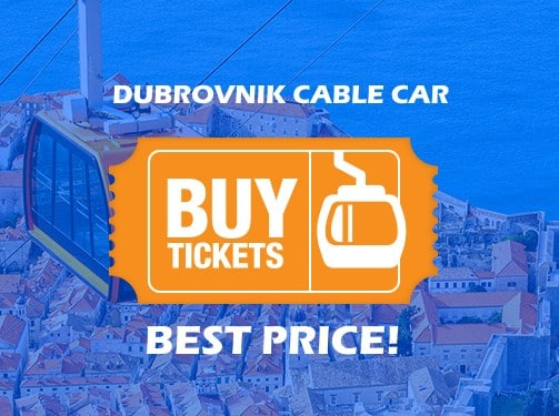 cable car ticket buy dubrovnik
