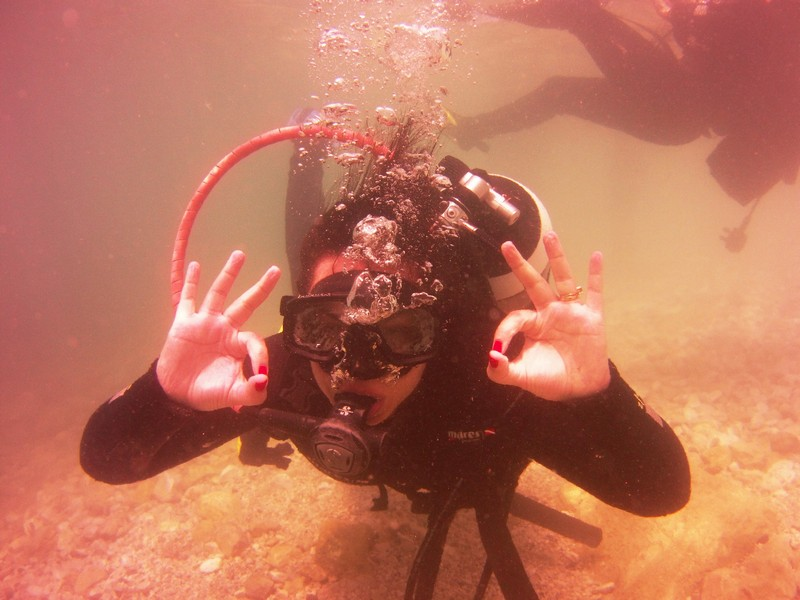 diving Dubrovnik scuba diving Abyss Camila diary travel trip