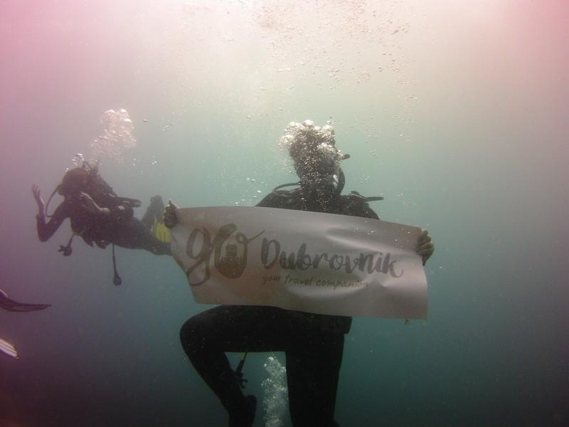 diving Dubrovnik GoDubrovnik Camila diary