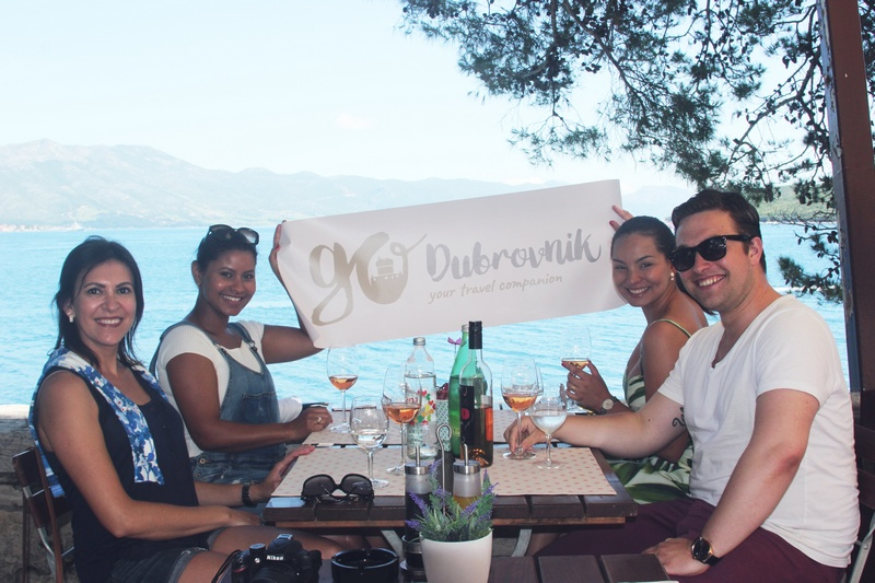 team GoDubrovnik Korčula Dubrovnik Adriatic Explore trip travel winners