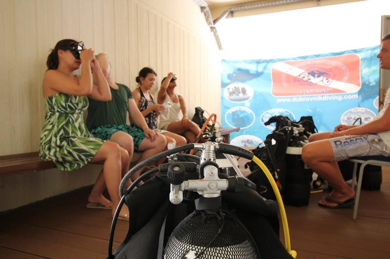 Diving Dubrovnik scuba diving GoDuborvnik Camila diary