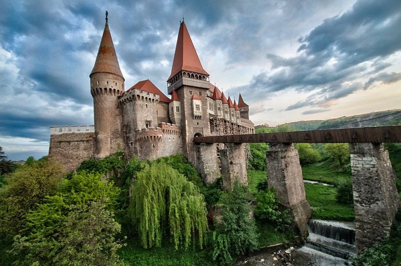 Castle in Romania Travel Europe