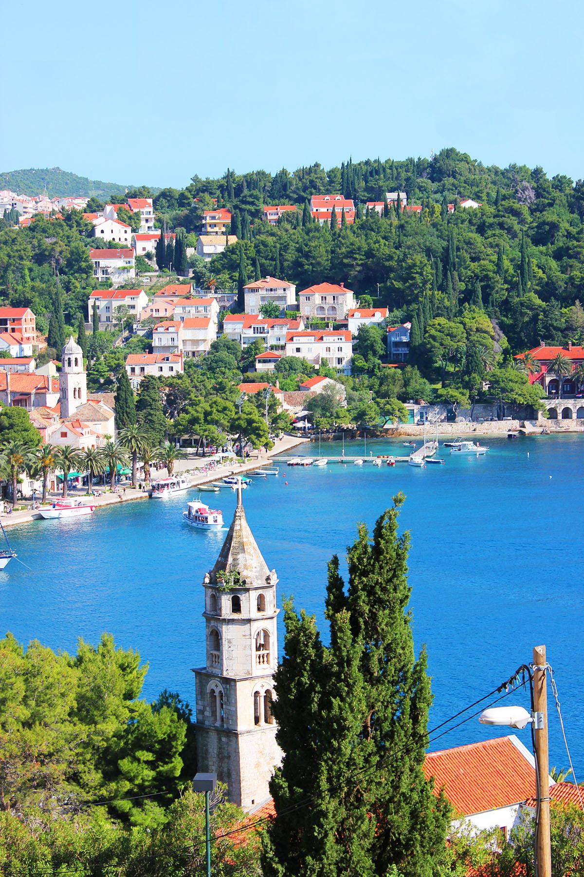 cavtat go dubrovnik adriatic sea