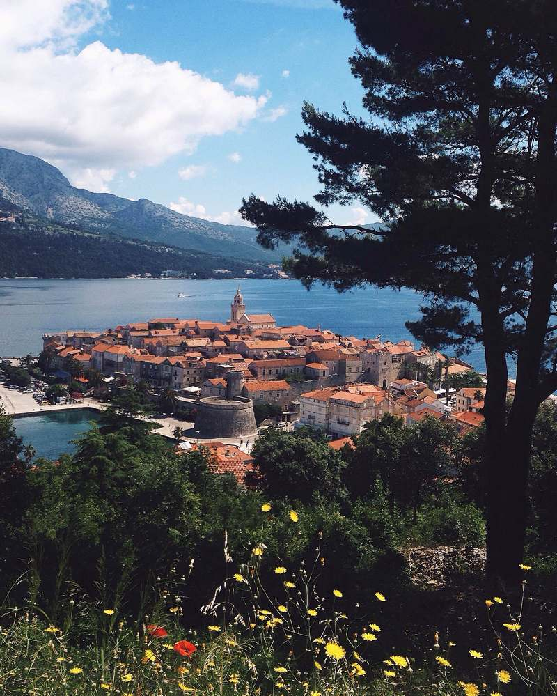 island Korcula Dubrovnik old town top destination