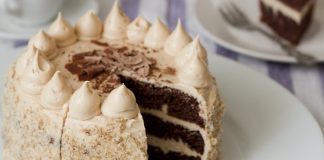 Tamara Novakovic Easy Chocolate Peanut Butter Cake Chocolate Peanut Butter Cake