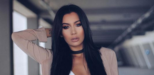Jelena Peric Kim Kardashian lookalike make up artist Croatia cover