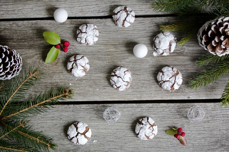 chocolate crinkles dubrovnik recipe Tamara Novakovic