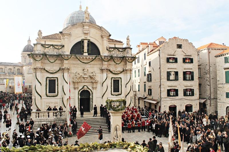 Zatvaranje Festa sv. Vlaha Dubrovnik crkva