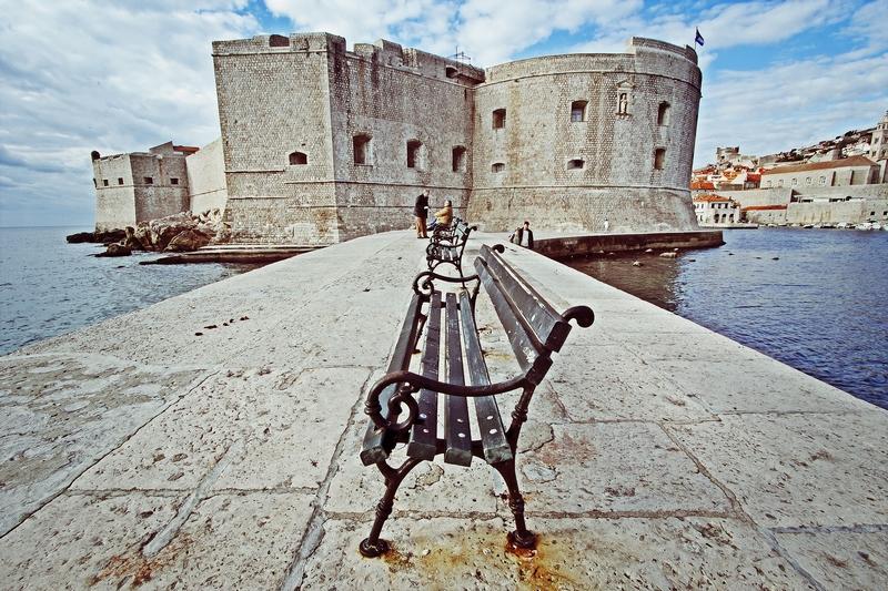 St. John's Fortress city walls Fortress monuments Dubrovnik GoDubrovnik Sponza Stradun Street
