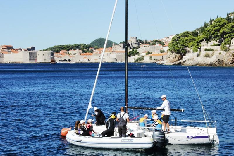 fantela i marenić u Dubrovniku jedrenje D-Marin