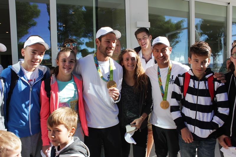 fantela i marenić u dubrovniku Villa Dubrovnik jedrenje Olimpijske igre djeca