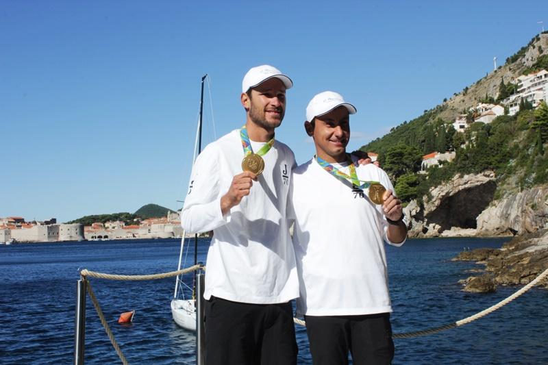 fantela i marenić u Dubrovniku jedrenje