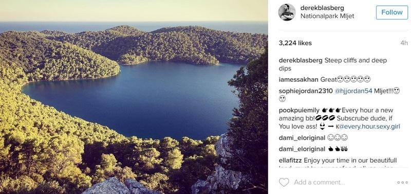 Diane von Furstenberg Croatia Summer Dubrovnik island Mljet GoDubrovnik fashion designer Derek Blasberg