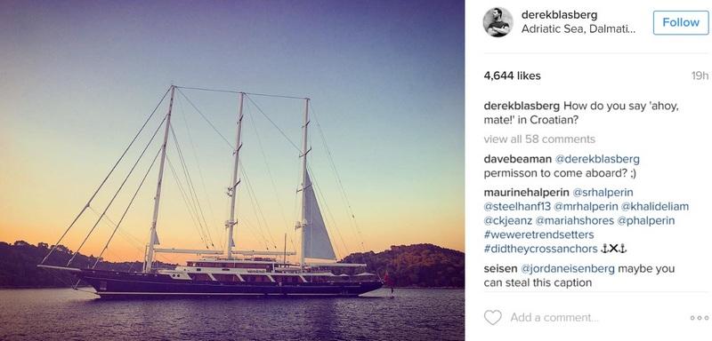Diane von Furstenberg Croatia Summer Dubrovnik island Mljet GoDubrovnik fashion designer celebrity Derek Blasberg