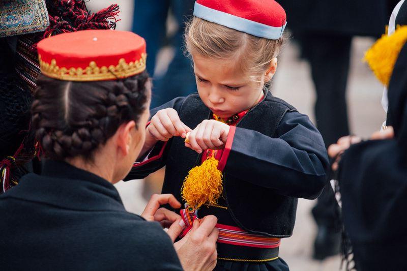 djeca Festa sv. Vlaha Dubrovnik