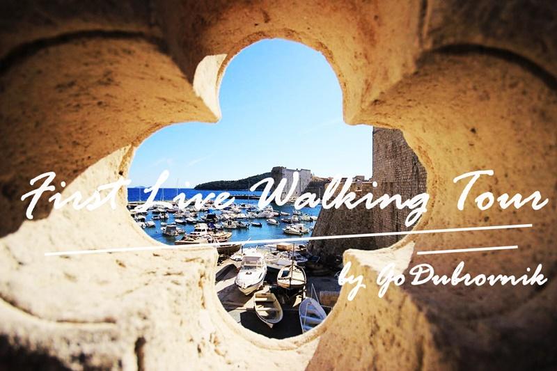 Go Dubrovnik guide live facebook ivan vukovic