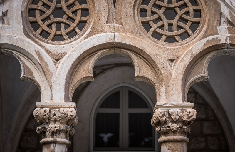 Dominican Monastery Dubrovnik Old Town monuments architecture